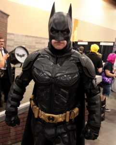 Batman cosplayer